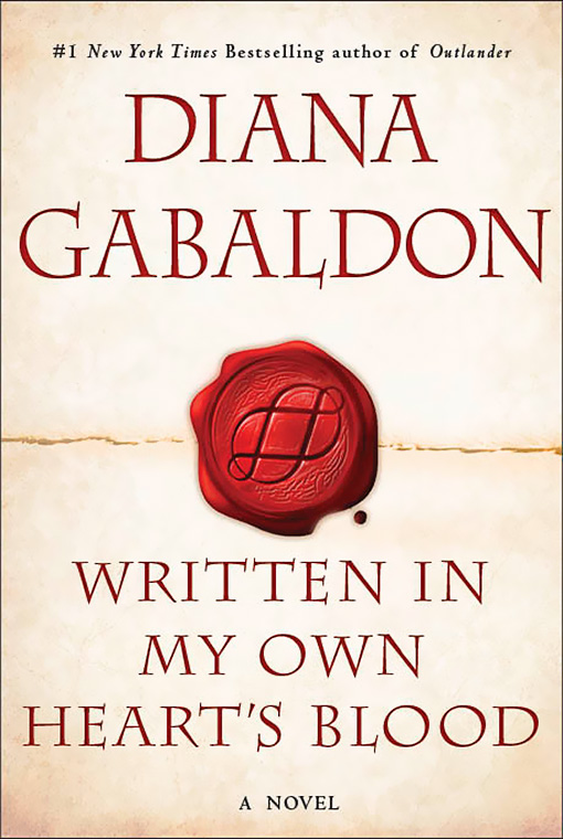 Cover of new Diana Gabaldon novel released!