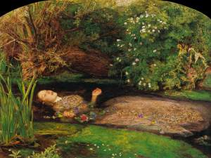 Ophelia by Sir John Everett Mallais
