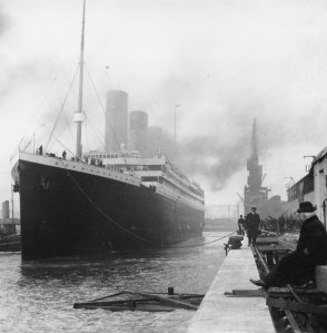 The Titanic as it left on its first and final voyage. Credit: Library of Congress