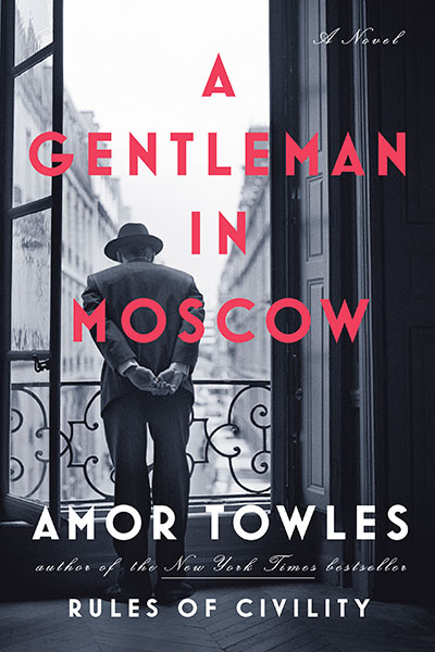 book cover of A Gentleman in Moscow