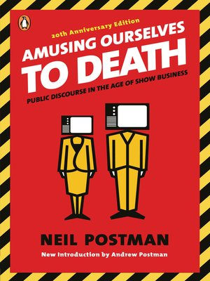 amusing ourselves to death Truth exposed in amusing ourselves to death essay 1506 words | 7 pages exposed in amusing ourselves to death neil postman is.