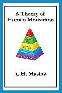Maslow's a Theory of Human Motivation cover