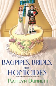 bagpipes, brides, and homicides cover