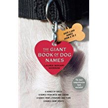 Giant Book of Dog Names cover