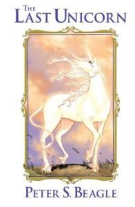 the last unicorn graphic novel cover