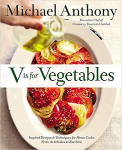 cover of v is for vegetables