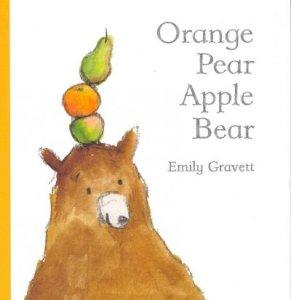 orange pear apple bear cover
