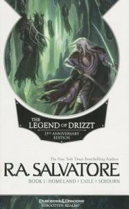 Legend of Drizzt book 1 cover