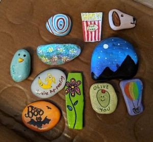 painted happiness rocks