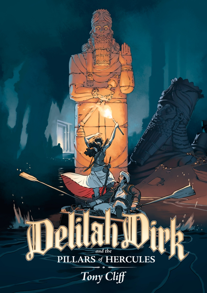 Delilah Dirk and the Pillars of Hercules cover