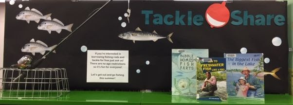 tackleshare display at Waverley