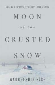 Moon of the Crusted Snow cover