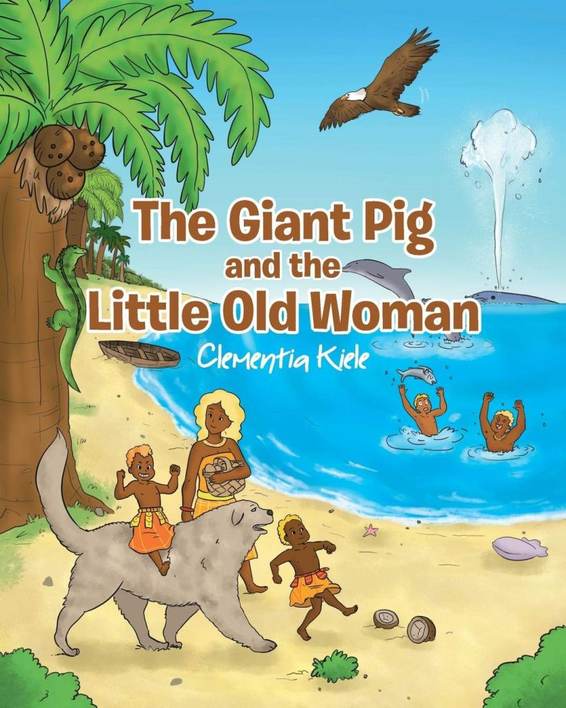 cover of the Giant Pig and the Little Old Woman