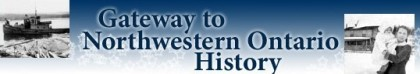 Gateway to Northwestern Ontario History logo