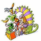 cartoon readers image