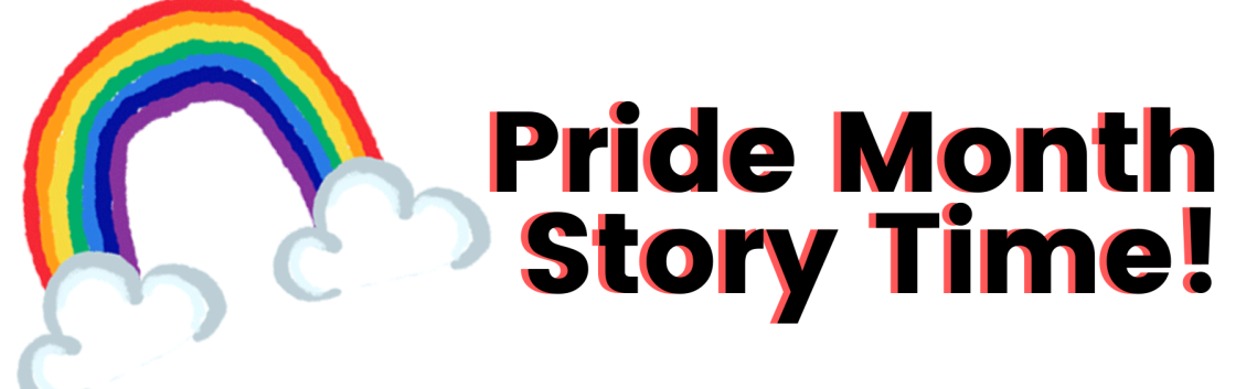 Pride Month Story Time logo