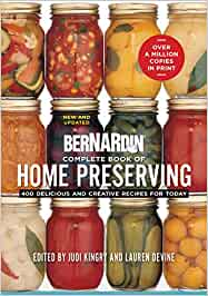Complete book of home preserving book cover