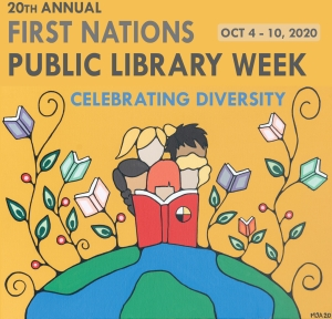 2020 First Nations Public Library Week banner