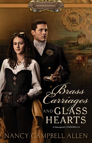 cover of Brass Carriages and Glass Hearts