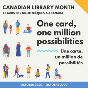 Canadian Library Month banner
