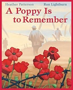 cover of a poppy is to remember