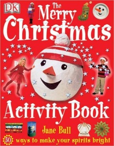 cover of the merry Christmas activity book