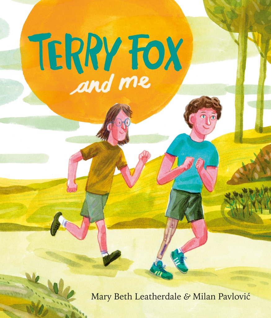 cover of Terry Fox and Me