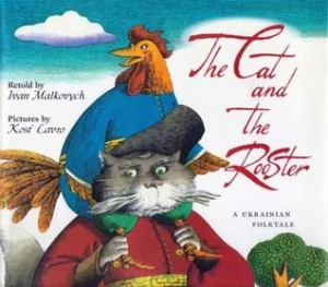 cover of the cat and the rooster