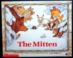 cover of the Mitten by Jan Brett
