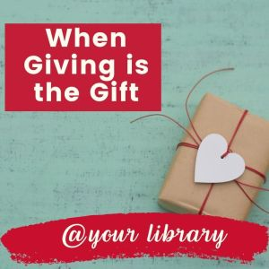 When giving is the gift banner