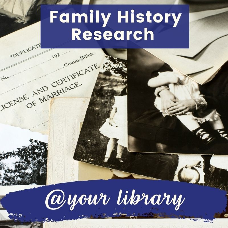 Family History Research banner