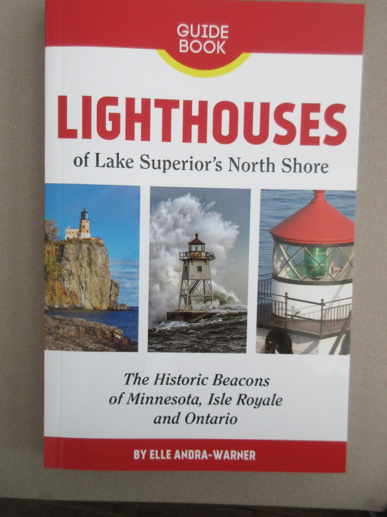 cover of Lighthouses of Lake Superior's North Shore