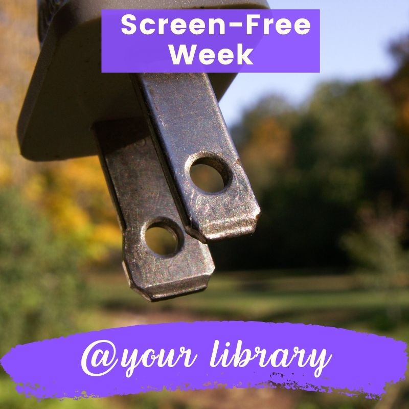 Screen-free week banner