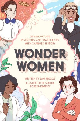 Book cover: Wonder Women by Sam Maggs