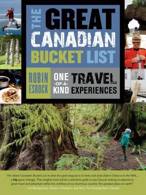 cover of the Great Canadian Bucket List
