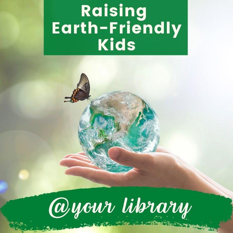 raising earth-friendly kids banner