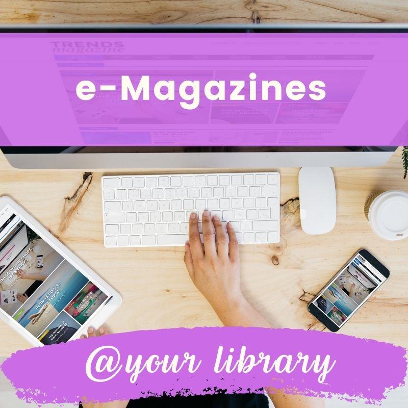e-magazine banner