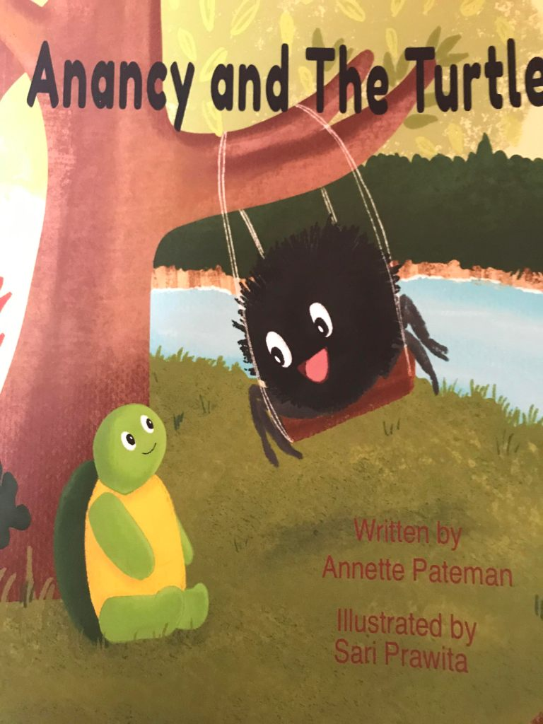 cover of Anancy and the Turtle